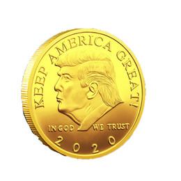 ringstand chinesisch Rabatt Donald Trump Gedenkmünze Amerikanischer Präsident Goldmünzen Craft Collection Commemorative America 45. Präsident versandkostenfrei