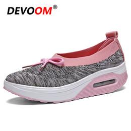 Zapatos de confort para las mujeres Shose Nuevo Verano Mujer Zapatos Zapatillas de deporte de moda Cojín de aire Mujeres planas Enfermera Madre Antiskid desde fabricantes