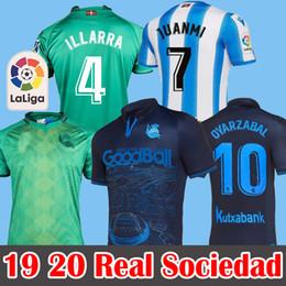 Kit speciale online-19 20 Kit speciale maglia Real Sociedad soccer jersey X.PRIETO J.ZALDUA AGIRRETXE Maglia calcio CARLOS V. GRANERO M.BERGARA JUANMI Maglia da calcio