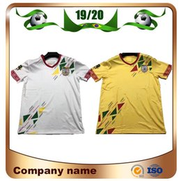 uniformes de futebol de manga curta Desconto 2019 África do Sul Benin Soccer Jersey 19/20 Benin Nacional dos homens Da Camisa de Futebol de manga Curta uniforme de Futebol
