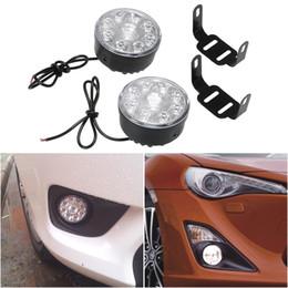 BEESCLOVER Car Daytime LED Light DRL Car Daytime Running Lights 6 LEDs Car Styling Daylight Super Bright Show