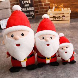 santa claus stuff spielzeug Rabatt Weihnachtsplüsch-Puppe Weihnachten Spielzeug-Puppe für Kinder Weihnachtsmann Geschenk für Kinder 23cm Weihnachtsmann Plüschtiere Kuschelpuppe KKA7629