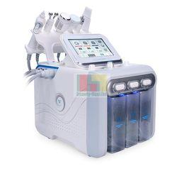 Canada 2019 Date 6 en 1 Hydra Dermabrasion RF Bio ascenseur Spa Machine Du Visage RF Machine Du Visage Eau Du Visage et Peel Froid Spray D'oxygène cheap water lift Offre