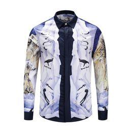Quallenhemd Mode Marke einzigartiges Design Schönheit Stil starke künstlerische Leistung Herren Freizeithemd ist auf der ganzen Welt beliebt von Fabrikanten