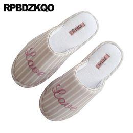 китайская обувь для обуви Скидка Дом зима спальня мех скольжения на гостя корейской осенью письмо дамы тапочки слайды модная обувь 2018 женщины китайский закрытый дом
