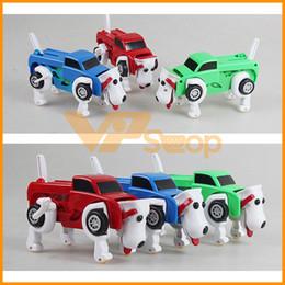 латунный военный Скидка 15см Заводной Собаки Животные игрушка для малышей трансформаторных игрушек Автомобилей Автоматического преобразования Wind Up игрушки для детей игрушки Детских игрушек Подарков автомобиля