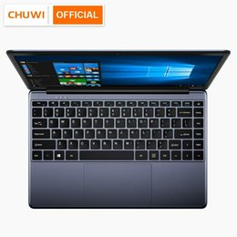 Computadoras portátiles de cuatro núcleos online-14.1 pulgadas Laptop Windows 10 Intel E8000 Quad Core 4GB RAM 64GB ROM teclas en inglés