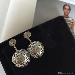 Marque de mode populaire treillis balle type oreille ongle pour dame Design Femmes Parti Mariage De Luxe Bijoux Avec pour la Mariée avec BOX ? partir de fabricateur