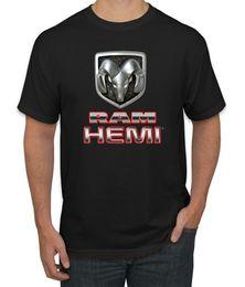 dodge emblems Desconto Dodge Ram Logo Hemi Retro Oficial Emblema Do Vintage Carros e Caminhões T-Shirt Dos Homens
