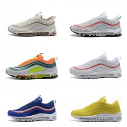 the latest 9cc61 c7efc New Steelers 97 x UNDEFEATED OG UNDFTD Running Shoes 97s SE Triple White  Black South Beach Persian Violet Men Women Sports Sneakers 36-45 97 shoe on  sale