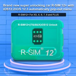 Nuova originale Rsim 12+ Attivazione intelligente sblocca SIM 12 + Heicard Sblocco scheda per iPhone6 7 8 X IOS 12.3 supporto modifica iccid da
