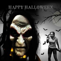 2019 gummi witze Halloween-Maske Grudge Geist Hedging Zombie Realistische Maskerade-Halloween-Party Langes Haar Geist-Maske Scary Maske