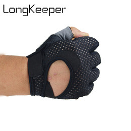 Sports Running Gloves Cycling Bike Gym Gloves Motorcycle Shockproof Half Finger Short Glove Running Outdoor Breathable G312 от