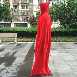 costumes de super-héros féminins pour enfants Promotion Halloween sorcières cosplay manteau robe elfique partie costumes de thème de velours d'or costumes costumes costumes de vacances classiques vêtements