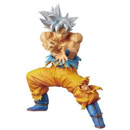 Anime Dragon Ball Z Super Ultra Instinkt Goku Die Super KRIEGER SPECIAL Abbildung Modell Sammlung Spielzeug 16 cm von Fabrikanten