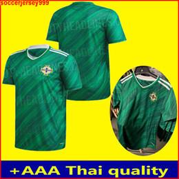 Jerseys tailandeses envío gratis online-La más nueva calidad tailandesa 2020 2021 2020 Irlanda del Norte Irlanda del Norte de fútbol jerseys camisa de fútbol de local