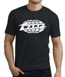 Sommer T Shirt Warp Records Großhandel Rabatt Label Aphex Twin Autechre Boards von Kanada Squarepusher O Neck Shirt Plus Größe T-Shirt von Fabrikanten