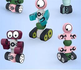 Force Magnétique Déformation Enfants Belle Robot Aimant Robot Bébé Jouet Cadeau Protection De L'environnement Jouets Enfants Blocs de Construction 7 6tl ? partir de fabricateur
