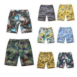 2019 pantalones cortos hombre mar GEJIAN 2019 Verano para hombres Nuevo Piso Casual Hawaiian Beach Shorts Bolsillos de secado rápido Troncos de natación Sea Surf Wwimshorts Hombres pantalones cortos hombre mar baratos