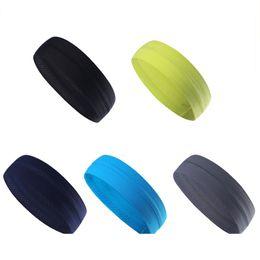bandes de sport en tissu Promotion Fitness Bandeau en tissu Bandeau Non Slip Sport Bandeau anti-sueur Bandeaux anti-transpiration Bandages Accessoires pour cheveux
