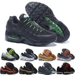 Argentina nike air max 95 airmax Zapatillas de deporte para hombre originales Chaussures para hombre Zapatillas deportivas de hombre Zapatillas de deporte de diseño casual zapatos de hombre supplier 95 running shoes Suministro