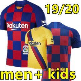 19 20 maillot de foot Barcelone 2019 HOME et AWAY #17 GRIEZMANN #21 F.DE JONG maillot de foot messi maillot de foot barcelona Homme et enfants 2020 kids ? partir de fabricateur
