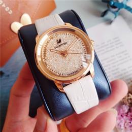 Canada Haute Qualité Diamant Montres De Luxe Swarovski Pierre Montres Coulée Bracelet Bande Dames Montres Pour Femmes big bang MONTRE Offre