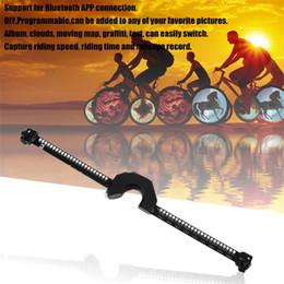 Roue de bicyclette LED s'allume Smart Bluetooth Intelligent Roue de contrôle lumière USB Rechargeable vélo a parlé lumières imperméable ? partir de fabricateur