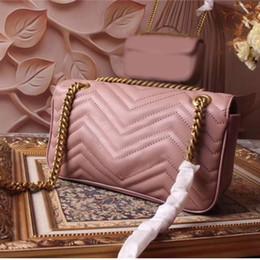 correntes famosas Desconto Famosa marca designer de moda senhoras de luxo pequena cadeia sacos de ombro messenger bag mulheres crossbody venda quente tamanho do transporte livre: 26 cm
