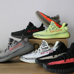 fleurs marrons Promotion nouvelle qualité meilleure adidas yeezy yeezys yezzy yezzys boost sply 350 V2 hommes statiques beurre sésame gris noir femmes designer chaussures hommes