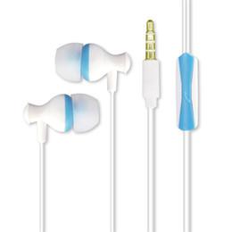 Spine per tablet online-U28 A forma di fungo universale Auricolari In-Ear Cuffie Tappi per le orecchie con microfono 3.5mm Plug Compatibile con Smart Phone Tablet PC Laptop