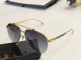 631dbf0dc 2019 moldura oval de ouro Moda Atitude de Luxo Óculos De Sol Para Homens  1033 Oval