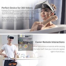 2019 filmes de telefone Filme profissional Aumentado Óculos 3D Visualizador HD Phone Holder Headset AR Jogo Tela Durável Ampliação Sem Tontura desconto filmes de telefone