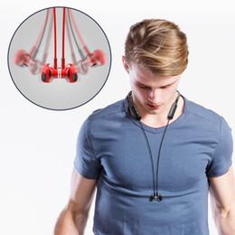 cuffia q7 Sconti Cuffie Bluetooth 5.0 Q7 Cuffie stereo audio 4D Cuffie wireless per appendere il collo Cuffie Bluetooth sportive da 135 mAh