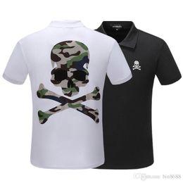 2019 moda masculina casual vestuário Homens camisa polo 2019 marca de luxo designer polo camisa dos homens casual t-shirt tarja polo moda clássico clothing moda masculina casual vestuário barato
