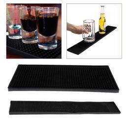 Service Rubber Spill Mat Non-Slip Drink Bar Restaurant Home Counter 60x8cm