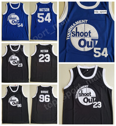 Maglia tupac online-Moive Tournament Shoot Out Motaw Wood Jersey 54 Kyle Watson Duane 96 Birdie Tupac Jerseys Pallacanestro sopra il costume del cerchio