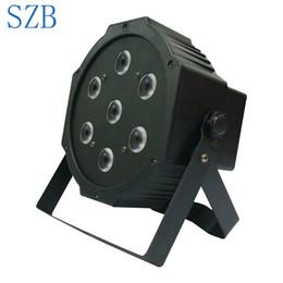 SZB de alta calidad 7x10w RGBW 4in1 LED Par Light para evento de boda de fiesta de escenario / SZB-PL0710A desde fabricantes