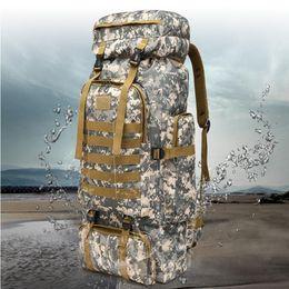 2019 водонепроницаемая сетчатая ткань Высокая плотность Оксфорд водонепроницаемая ткань 60 л открытый тактический кемпинг пешие прогулки поход рюкзак дышащая сетка бэк 10 дешево водонепроницаемая сетчатая ткань