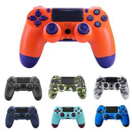 CHOQUE controlador sem fio Bluetooth para PS4 Vibration Joystick Gamepad Game Controller para Sony Play Station com caixa de varejo de