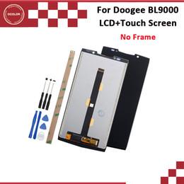 Accessoires doogee en Ligne-ocolor pour écran LCD et écran tactile Doogee BL9000 5.99 '' testé pour les accessoires de téléphone Doogee BL9000 avec outils et adhésif