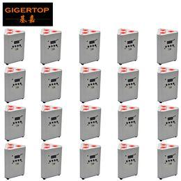 Литиевые батареи онлайн-Цена со скидкой 20 Units Triangle батареи Stage Led Par Light Mini батареи Размер 7500MAH литий Rechargable Длительная батареи Рабочая RGBW