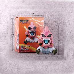 dragon ball z buu Rebajas 12 cm Anime Dragon Ball Z Majin Kid Buu Dragonball estatuilla PVC figura de acción modelo juguetes coleccionables para el regalo
