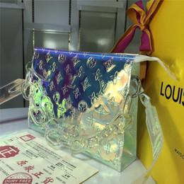 2019 модные сумки для вечеринок Модные прозрачные женщины моют сумки INS мода личность дизайн женский бренд конфеты сумки партии Banqurt прекрасный Шарм сумки скидка модные сумки для вечеринок