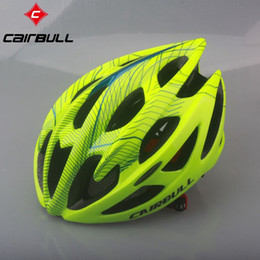 dimensionamento do capacete de bicicleta rodoviária Desconto CAIRBULL Superlight Ciclismo Capacete Road Mountain Bike Capacete Respirável MTB Bicicleta Cap Para Mulheres Dos Homens 5 Cores M L Tamanho