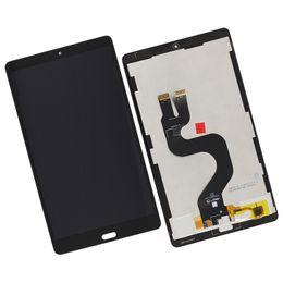 Pantalla de visualización para tabletas online-Conjunto de digitalizador de pantalla LCD de 8.4 pulgadas para Huawei Mediapad M5 8 SHT-AL09 Piezas de repuesto de tableta Negro Blanco