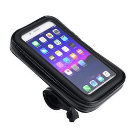 2020 caso della borsa della bici Impermeabile della bicicletta porta cellulare Borse Motocicli Telefonia Monte Bag 5.5 / 6.3 pollici Caso Bike touch screen Staffa sconti caso della borsa della bici