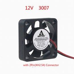 Fan Soğutma DC12V 0.08A 3007 3CM 30X30X7MM 10000rpm 2PIN XH2.54 Bağlayıcı Mini nereden