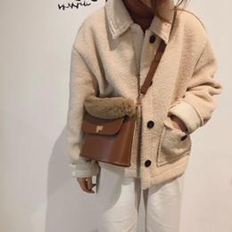 NUOVA borsa di donne calde della peluche borsa di cuoio dell unità di  elaborazione delle piccole borse di cuoio dell unità di elaborazione Borsa  semplice ... 6d8fca915b1