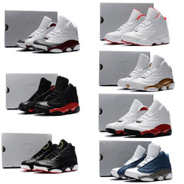 2019 bequeme basketball-turnschuhe Nike air jordan 13 retro  Mix Cute Silikon Basketball Mode Schuhe J13 komfortable hochwertige Sneaker für Jungen und Mädchen Weihnachtsgeschenke günstig bequeme basketball-turnschuhe